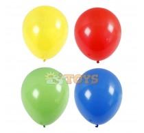 Set baloane mari Maxi Balloons set 4buc - roșu, galben, albastru, verde