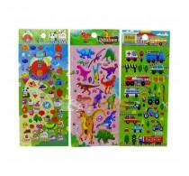 Sticker decorativ diverse modele tip 3D din PVC 23x10cm pentru copii