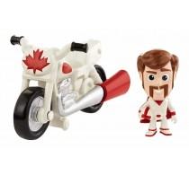 Set de joacă Toy Story 4 Minifigurină Duke Caboom și motocicletă GCY50