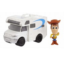 Set de joacă Toy Story 4 Minifigurină Woody și rulotă GCY51 - Mattel