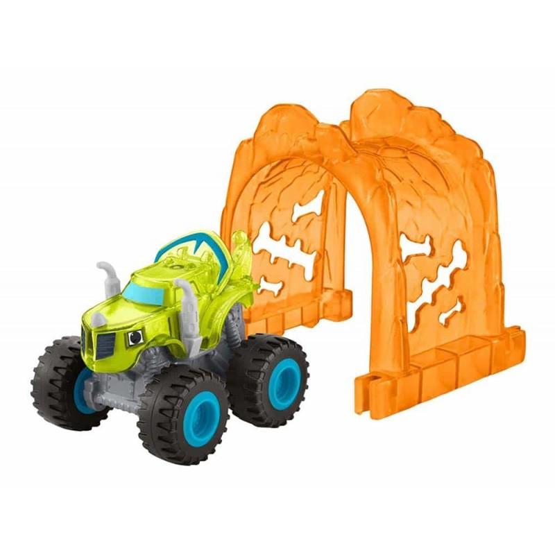 Mașinuță Zeg cu lumini Blaze and the Monster Machines DTV25 Mattel