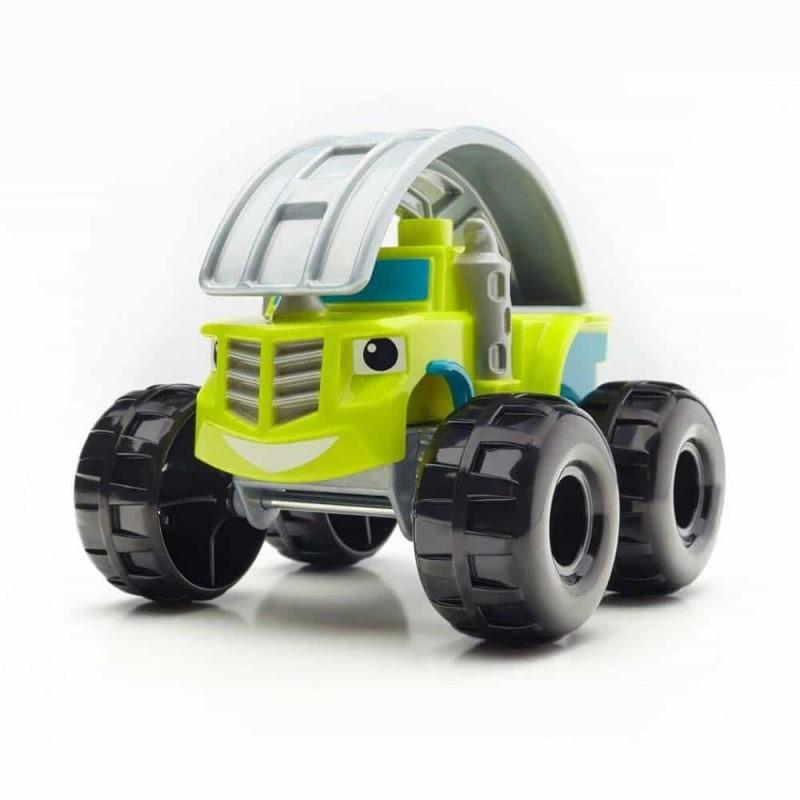Mega Bloks set de joacă mașinuță Cascadoria lui Zeg DXF20 Mattel