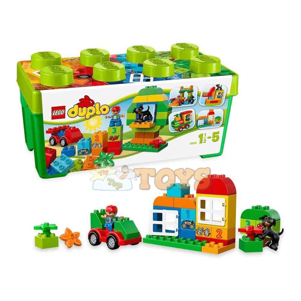 LEGO® DUPLO Cutie completă pentru distracţie 10572 All in One 65buc