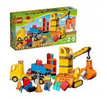 LEGO® DUPLO Șantier mare 10813 67 piese