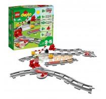 LEGO® DUPLO Șine de cale ferată 10882 23 piese