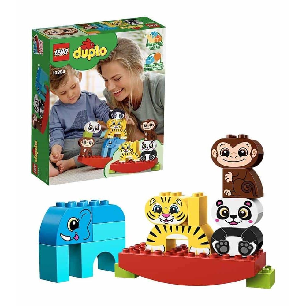 LEGO® DUPLO Primul meu balansoar cu animale 10884 15 piese