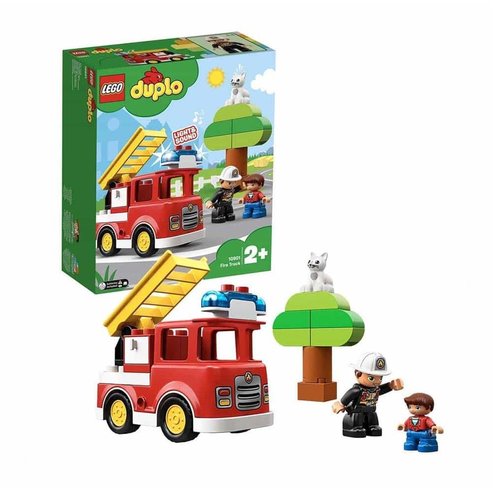 LEGO® DUPLO Camion de pompieri 10901 21 piese