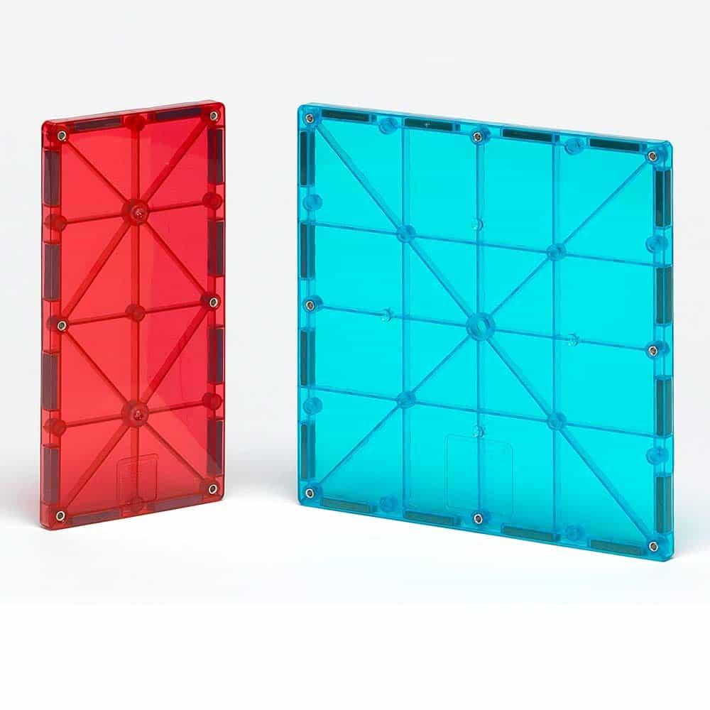 Magna-Tiles Extensie Dreptunghiuri joc magnetic 8 piese set magnetic 3D