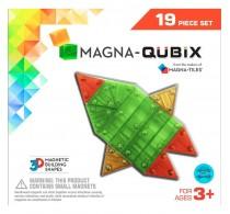 Magna-Tiles Magna-Qubix set magnetic 19 piese - joc magnetic 3D