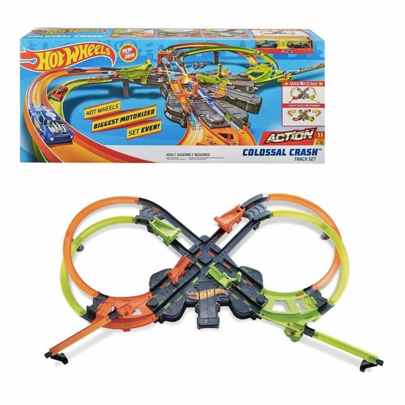 Hot Wheels Set de joacă Accidentul Colosal GFH87 figurine 8 - Mattel