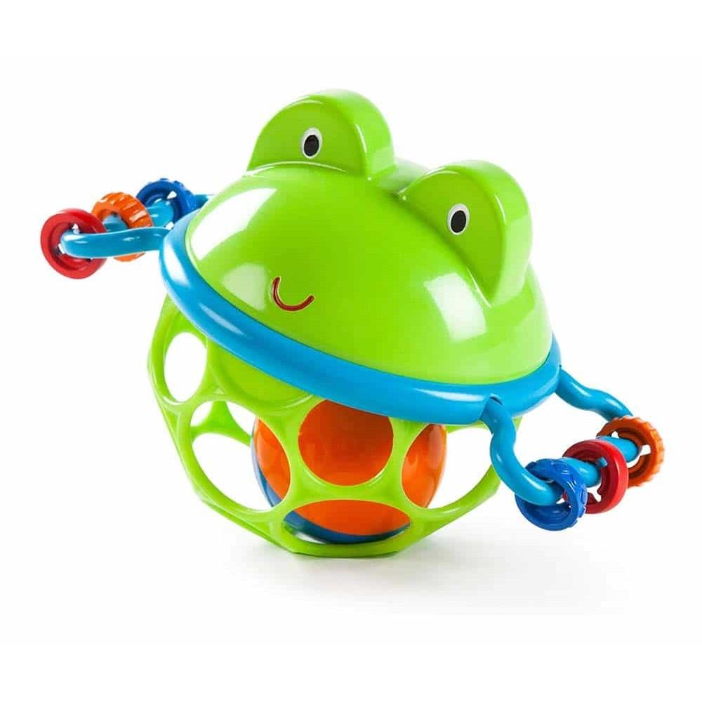 Oball Jucărie zornăitoare pentru bebe Broască Jingle & Shake Pal 10063