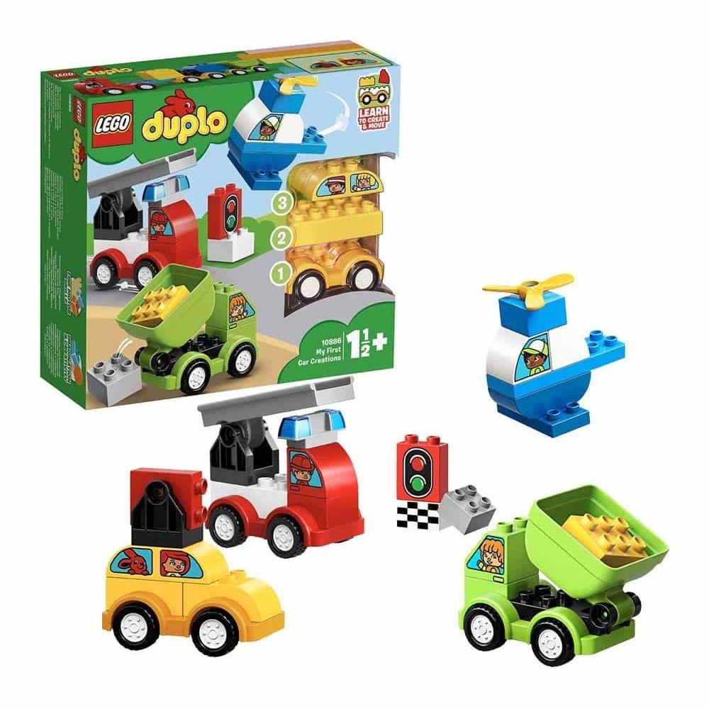 LEGO® DUPLO Primele mele mașini creative 10886 - 34 piese
