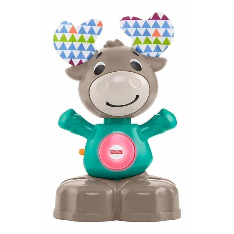 Fisher-Price Jucărie interactivă pentru bebeluși Linkimals Ren muzical EN