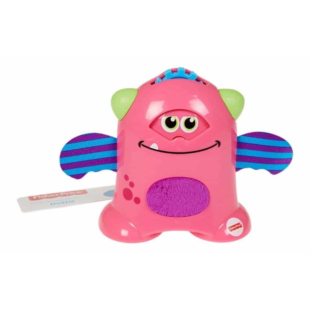 Fisher-Price Jucărie zornăitoare Micuțul Monstru haios Dottie FHF80