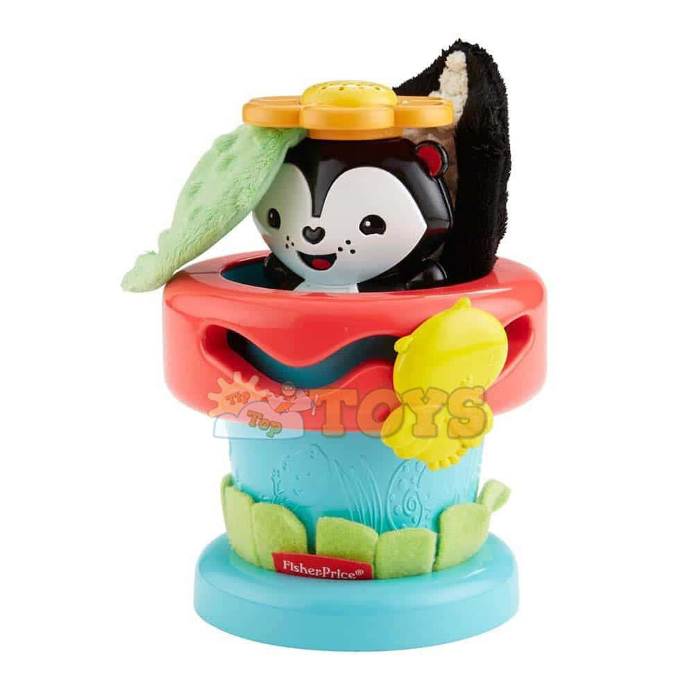 Fisher-Price Jucărie bebeluși Ghiveciul de flori Alege și te joacă DFP91