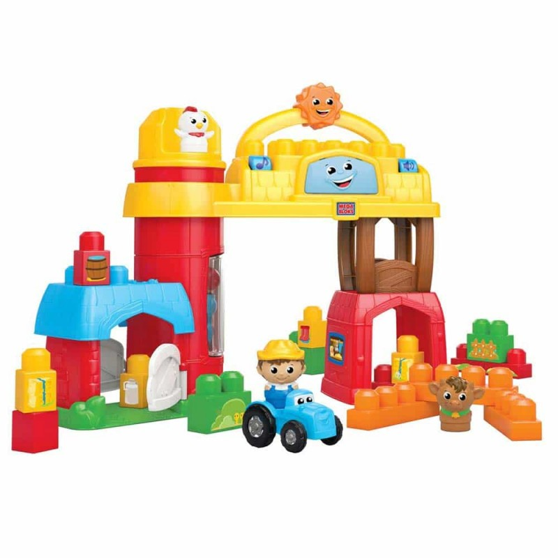 Mega Bloks Set de jucărie Bobby Barn ferma muzicală CXN76 25 piese