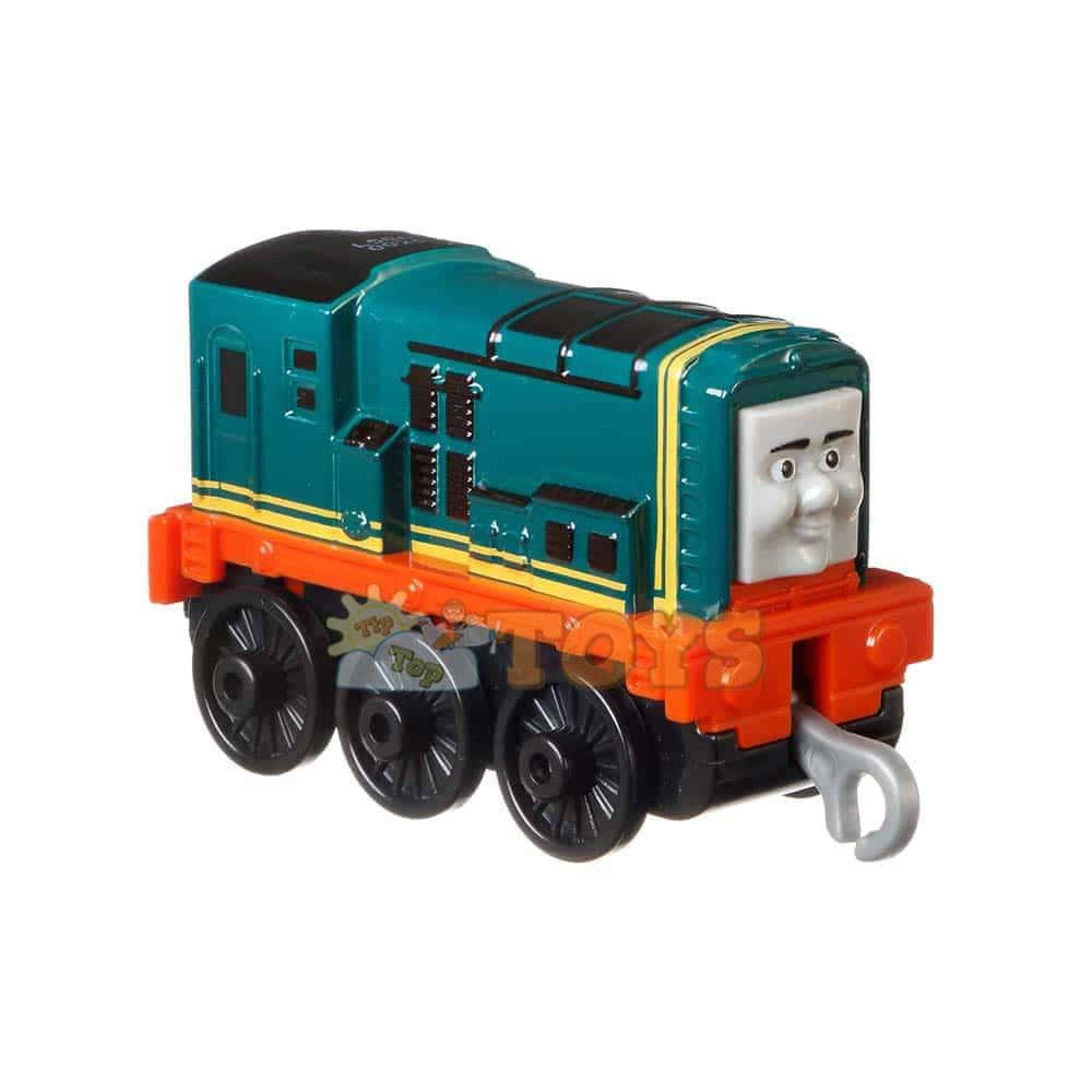 Locomotiva metalică Thomas și prietenii Push Along Paxton GDJ43
