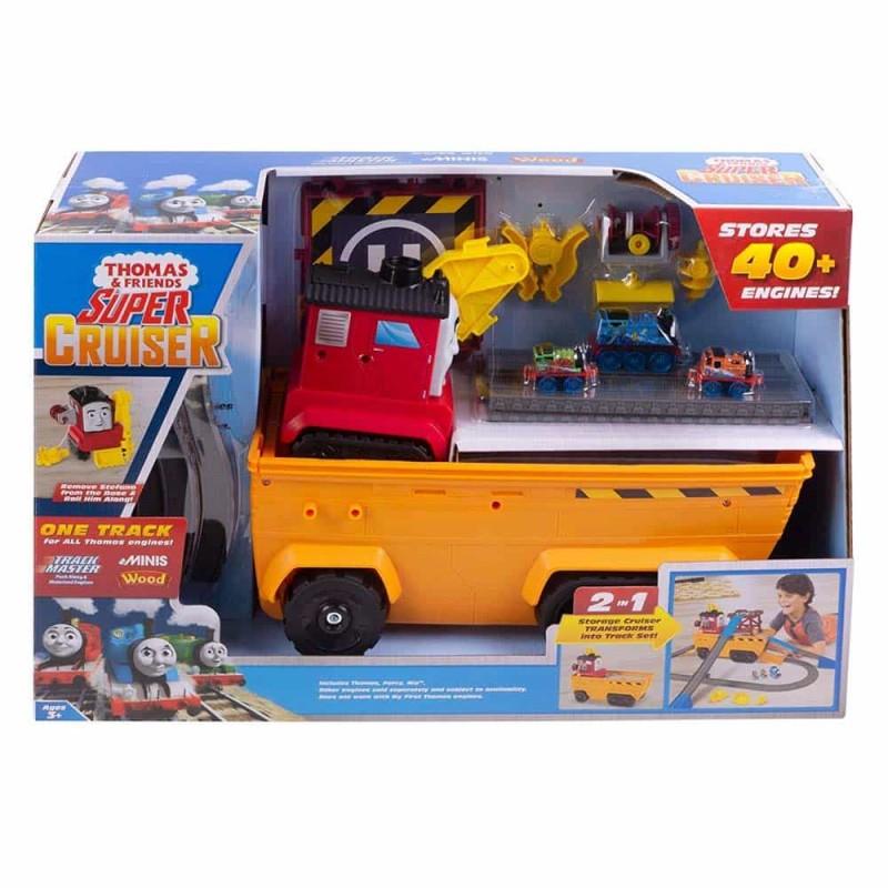 Thomas și prietenii Set de joacă Super Cruiser Transportor 2 în 1 GDV38