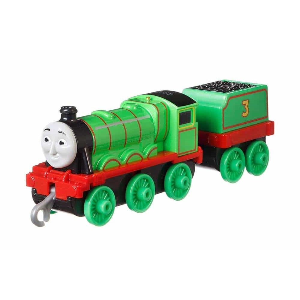 Locomotivă Thomas și prietenii Track Master Henry de împins GDJ55