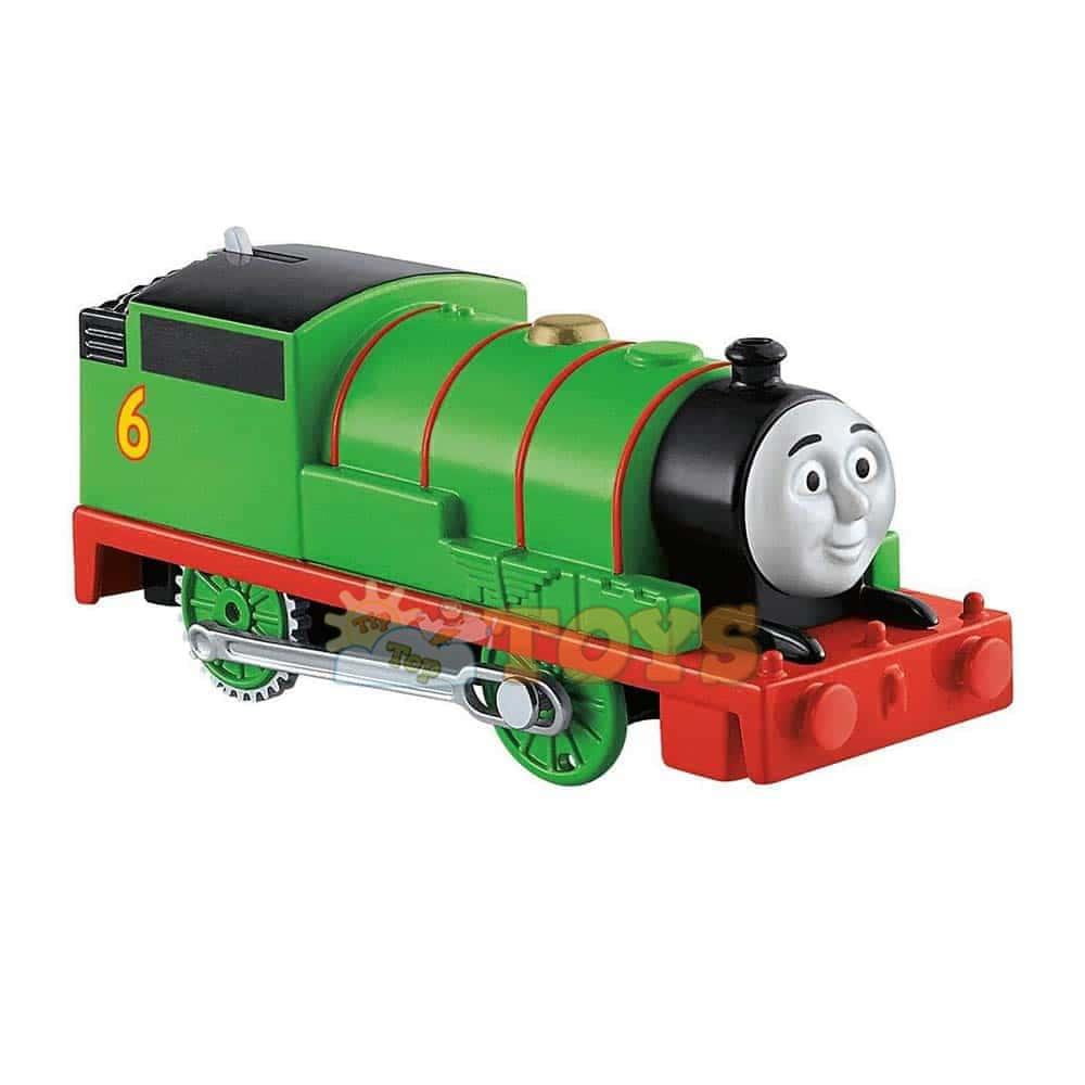 Locomotivă motorizată Thomas și prietenii Track Master Percy DFJ38