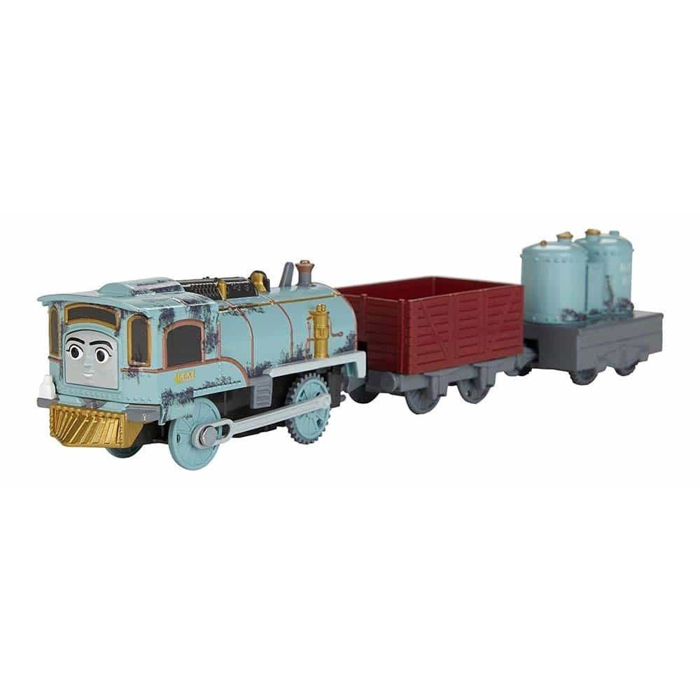 Locomotivă motorizată Thoams și prietenii Lexi cu două vagoane FJK52