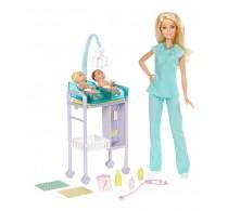 Păpușă Barbie Setul doctorului DVG10 - Păpușă Barbie Carieră