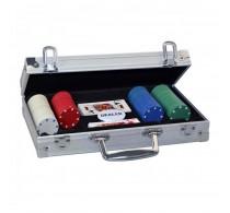 ProPoker 200 Set poker în valiză aluminiu Ambassador cu 200 jetoane