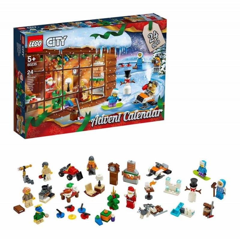 LEGO® City Calendar de Crăciun LEGO City 2019 60235 - 234 piese