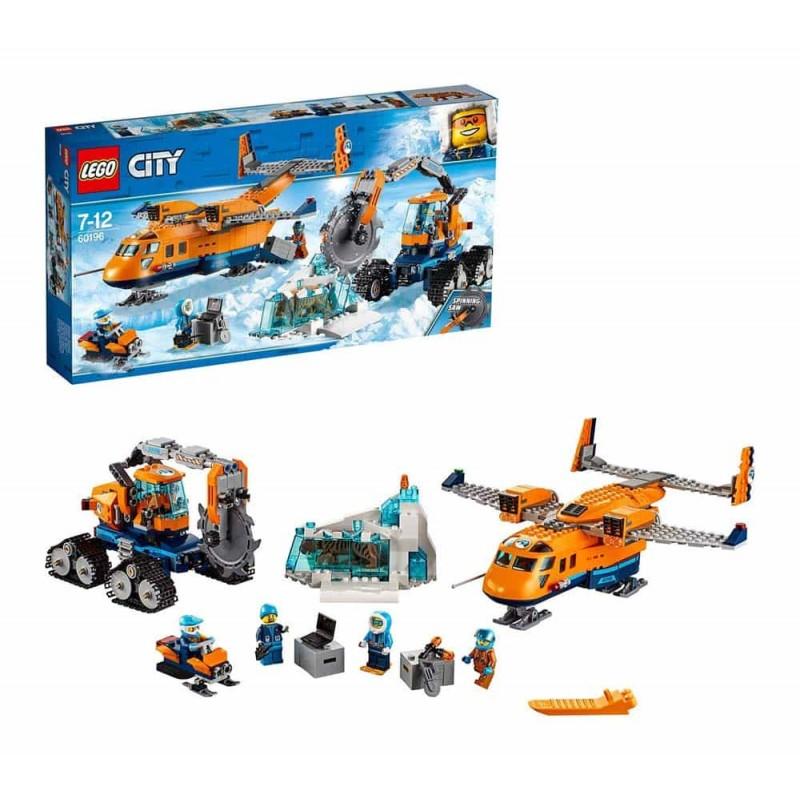 LEGO® City Avion de aprovizionare arctic 60196 - 707 piese