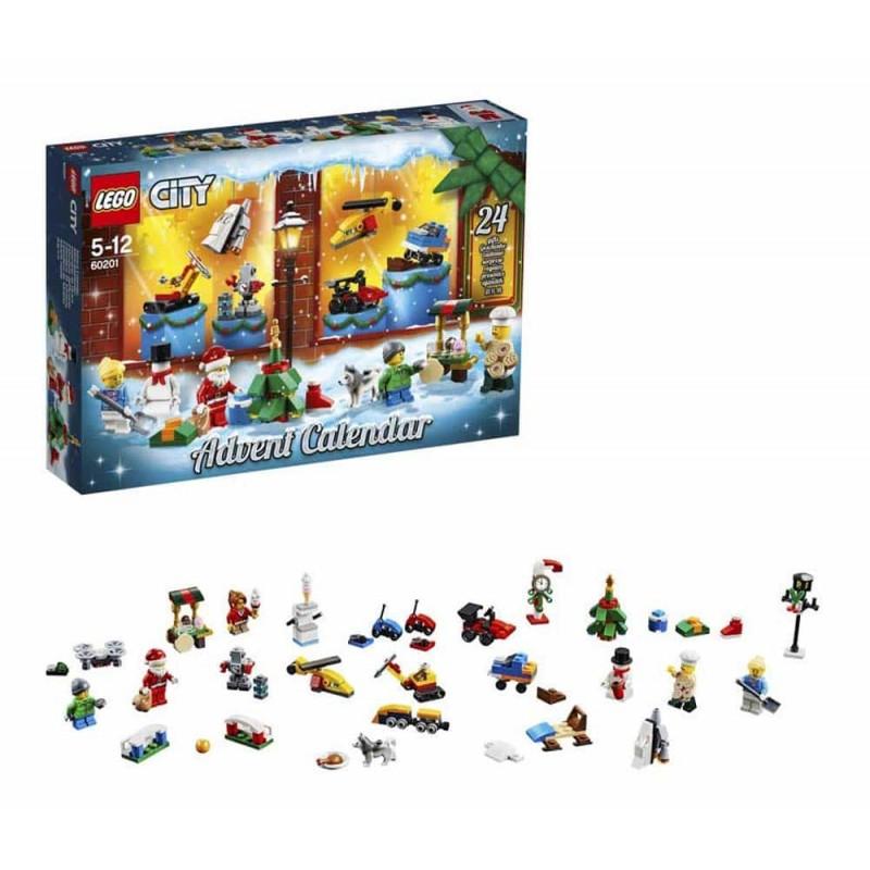 LEGO® City Calendar de Crăciun LEGO City 60201 - 313 piese