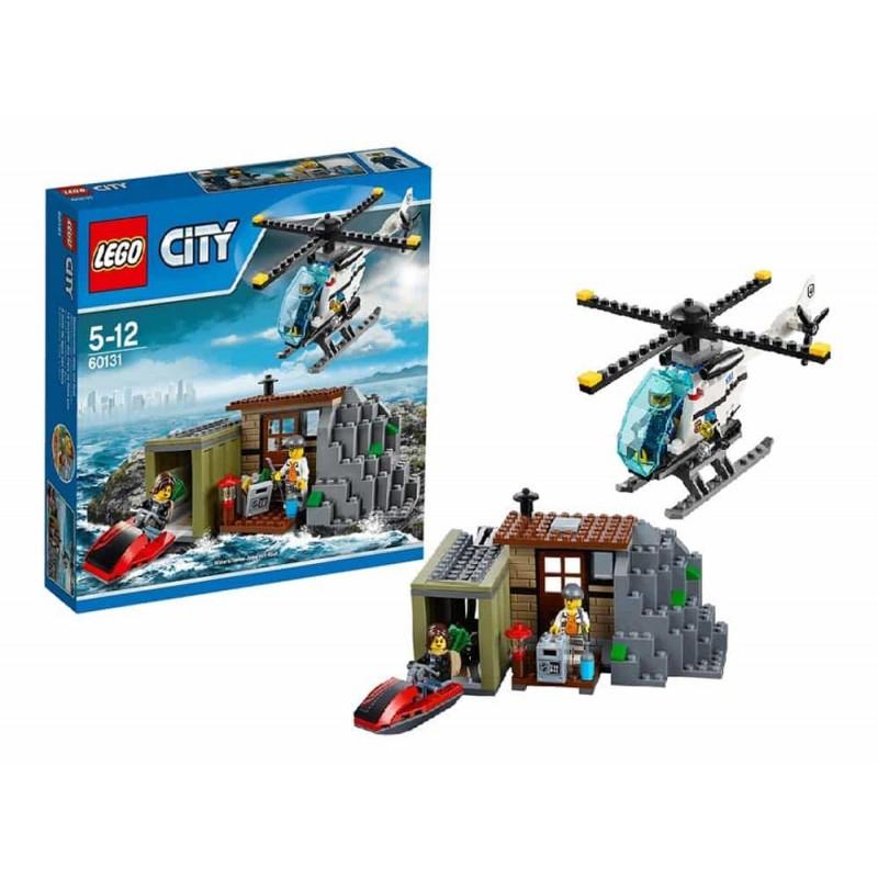 LEGO® City Insula răuvoitorilor 60131 - 244 piese