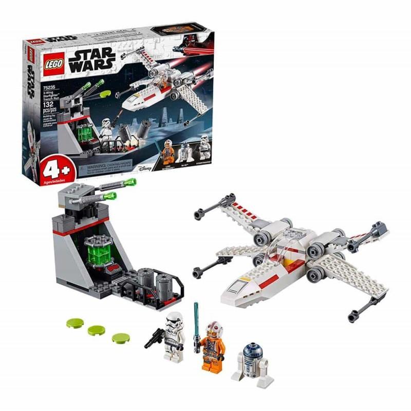 LEGO® Star Wars X-Wing Șanțul de alergare 75235 - 132 piese
