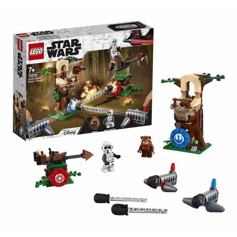 LEGO® Star Wars Atacul Action Battle Endor 75238 - 193 piese