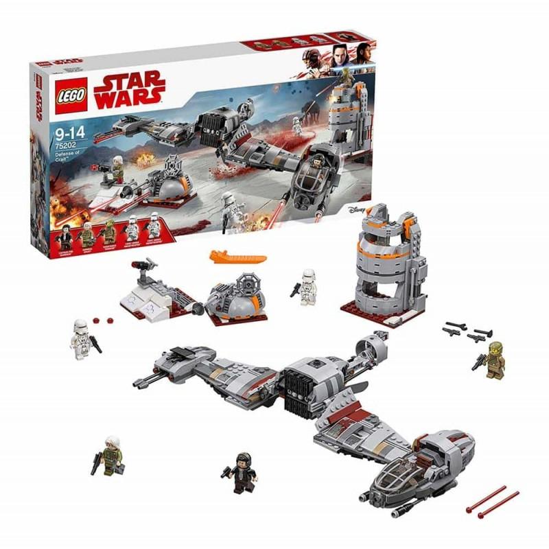 LEGO® Star Wars Apărarea planetei Crait 75202 - 746 piese