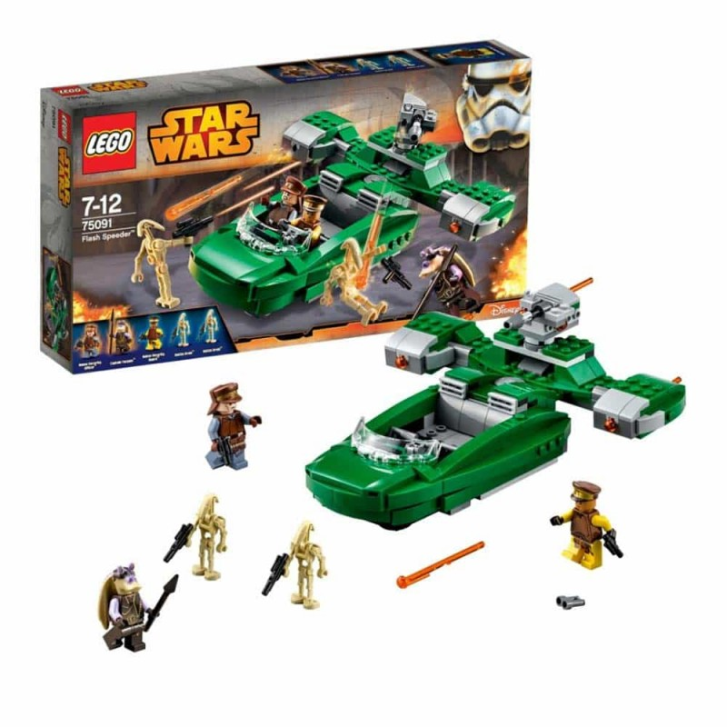 LEGO® Star Wars Flash Speeder 75091 - 312 piese
