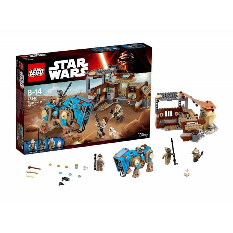 LEGO® Star Wars Confruntarea pe Jakku 75148 - 530 piese