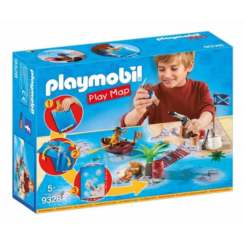 Playmobil Planșă de joacă Aventura piraților 9328