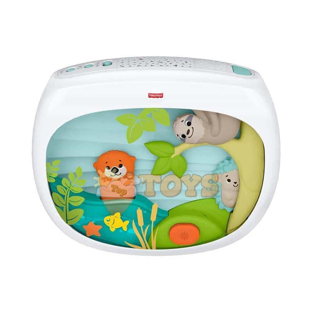 Fisher-Price Proiector muzical pentru bebe Safari FXC59 Mattel
