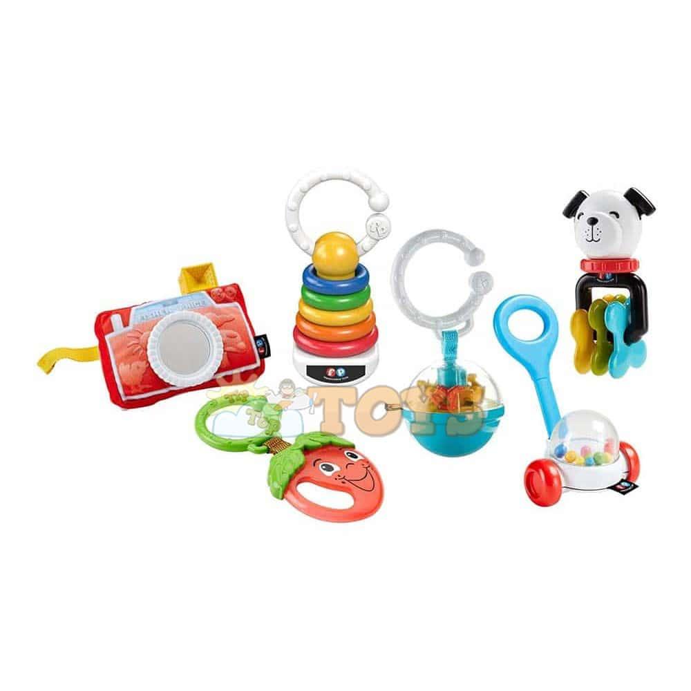 Fisher-Price Jucărie cu sunătoare Little Friends on the Road FBH63