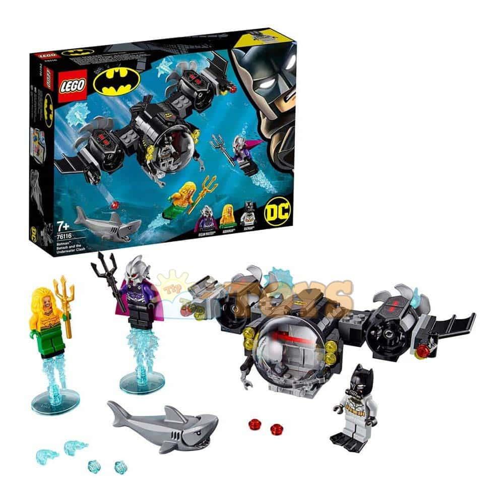 LEGO® Super Heroes Submarinul Batman și conflictul subacvatic 76116