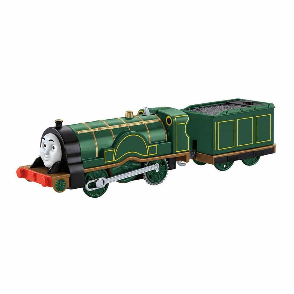 Locomotivă motorizată Thomas și prietenii Emily cu vagon CDB69