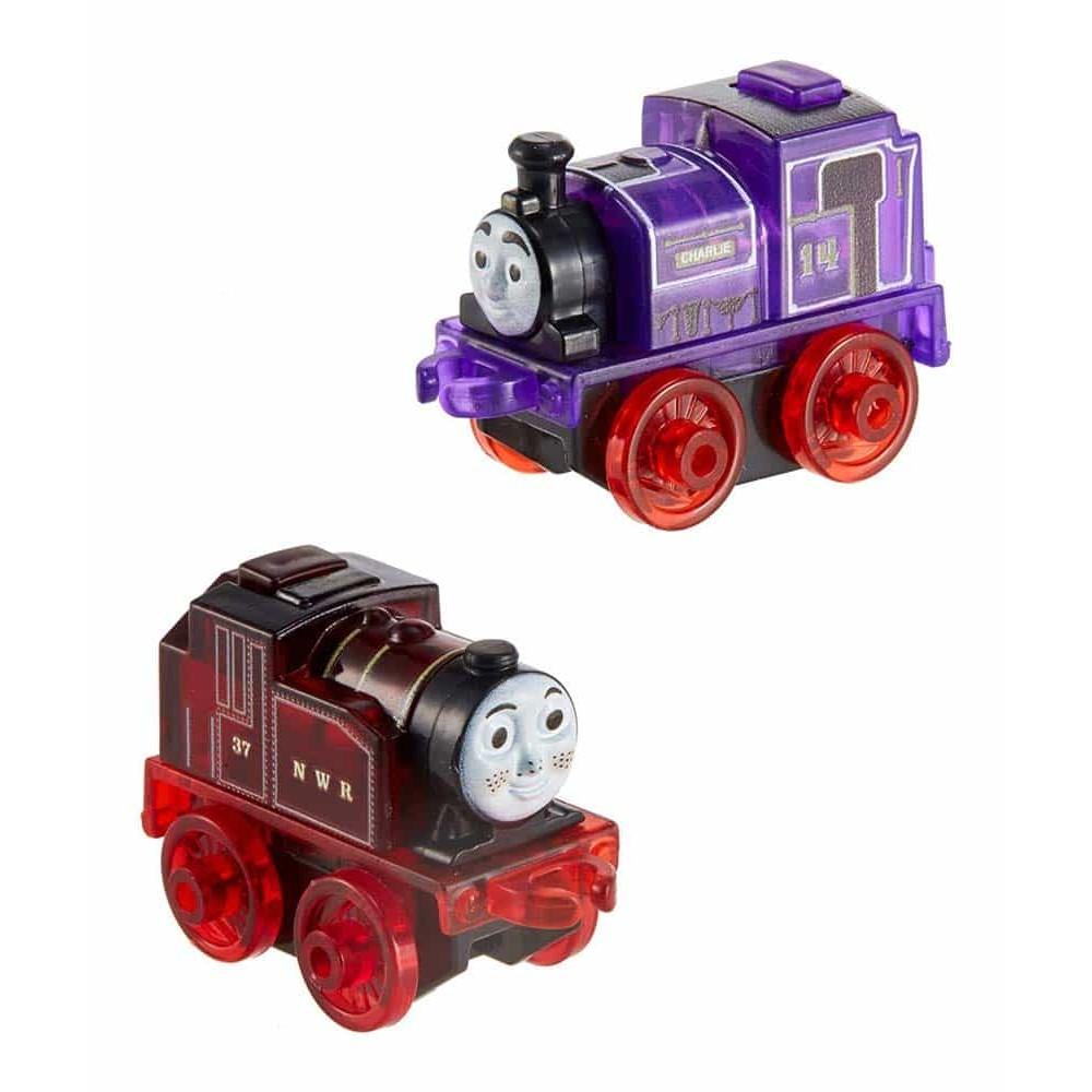 Locomotivă cu lumini Thomas și prietenii Mini locomotive roșu mov GBV96