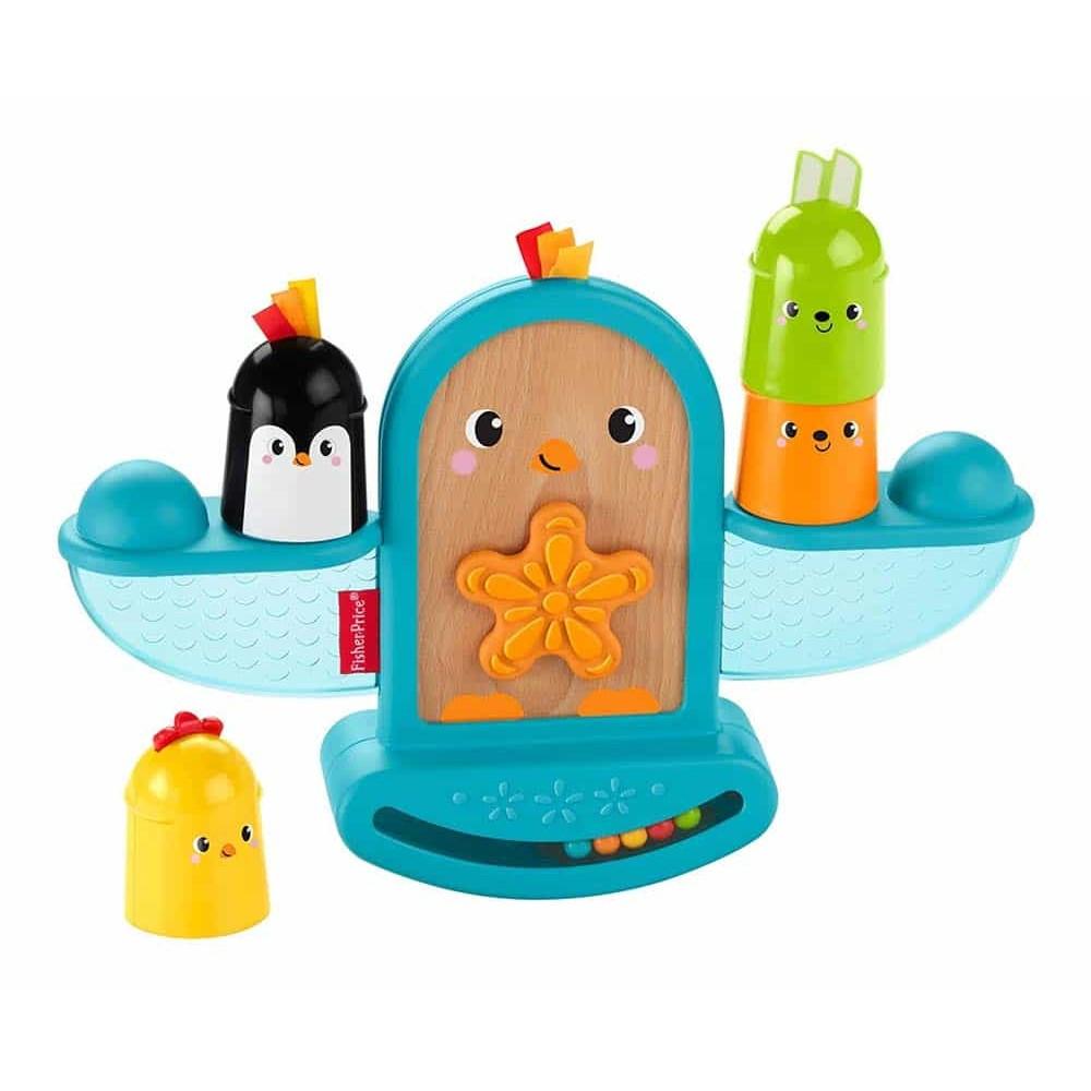 Fisher-Price Jucărie educativă Pasăre cu prietenii balansoar GJW26