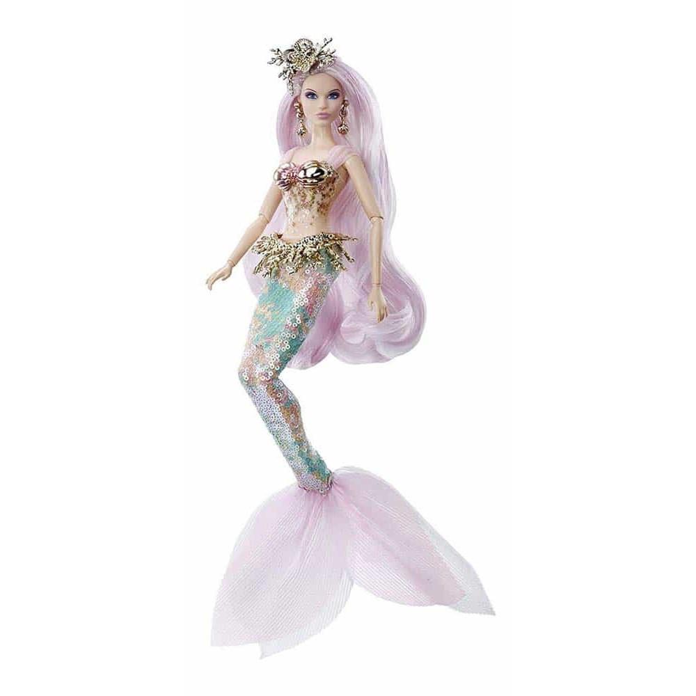 Păpușă Barbie Sirenă misterioasă Barbie Signature FXD51 Mattel