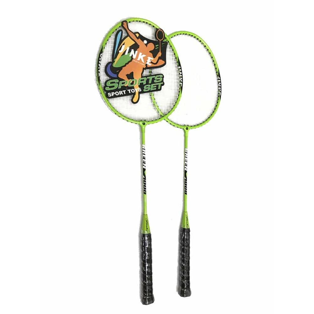 Set 2 rachete badminton cu fluturaș Sport TOY Set multicolor