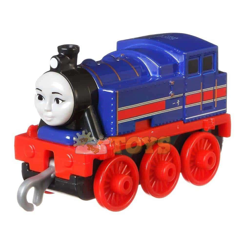Locomotivă cu lumini Thomas și prietenii Hong Mei Push Along GDJ53
