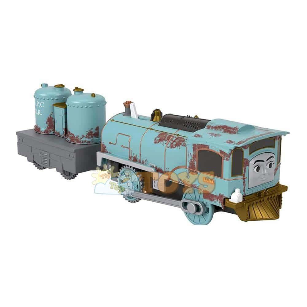 Thomas și prietenii Locomotivă motorizată Lexi cu vagon GPL48 Mattel