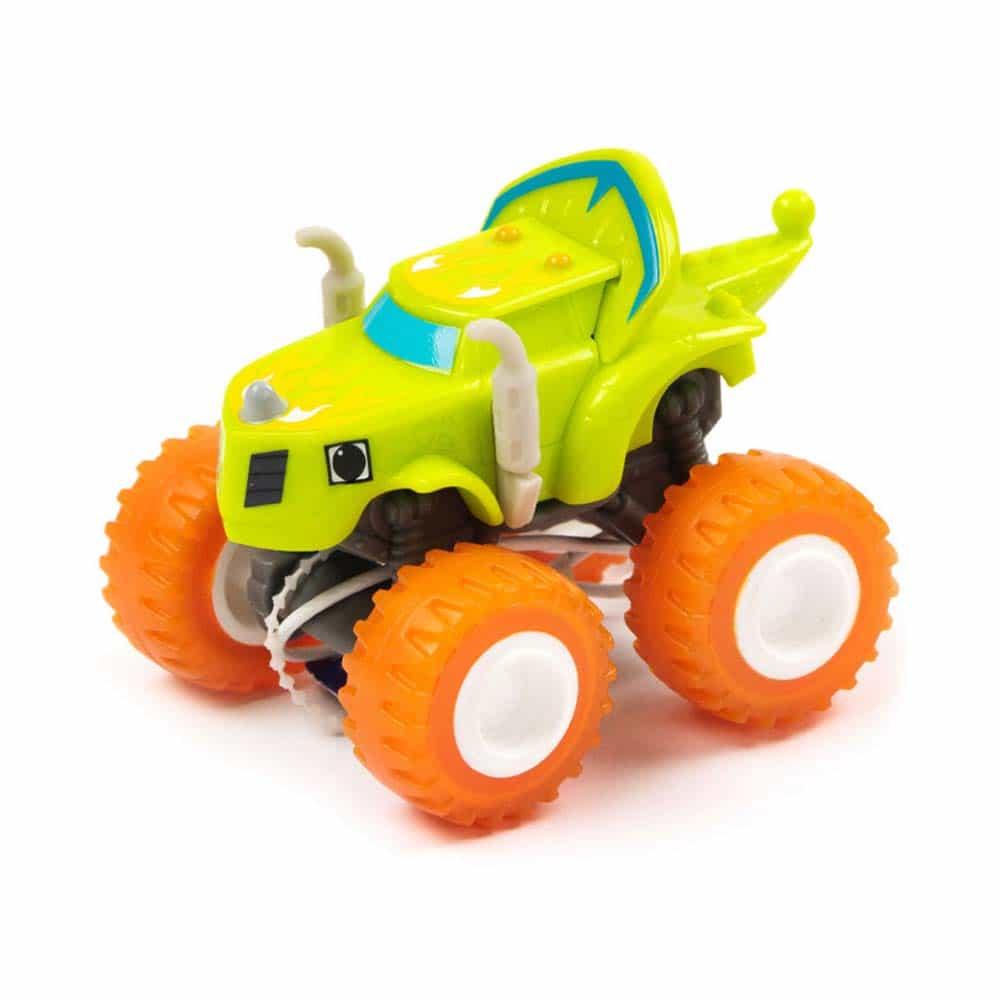 Mașinuță metalică Fire Rider Zeg - Blaze și mașinile uriașe GGW83