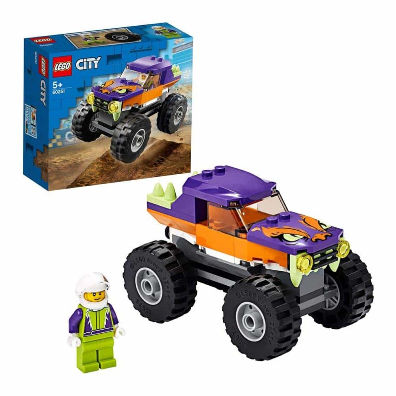 LEGO® City Great Vehicles - Camion gigant 60251 - 55 piese