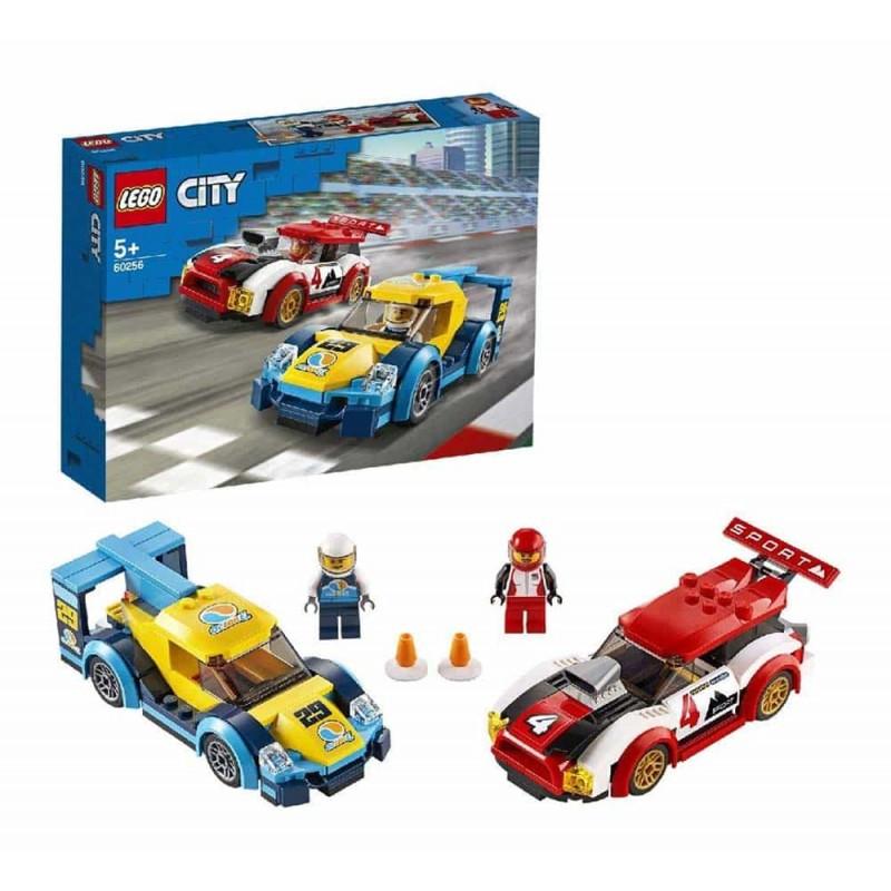 LEGO® City Nitro Wheels Mașini de curse 60256 - 190 piese